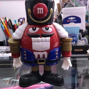 M&Ms limited edition nutcracker candy dispenser